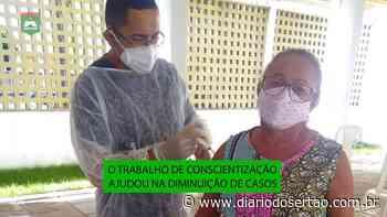 VÍDEO: Santa Helena reduz casos de Covid; ''Vacina chegando, a gente aplicando', diz secretária de Saúde - Diário do Sertão