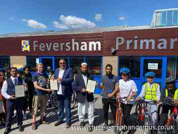 MP praises Feversham Primary Academy and Capital of Cycling - Bradford Telegraph and Argus