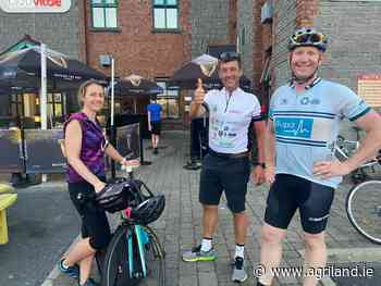 Ultra cycle: Day 3 'Ag Day' - 15 hours of cycling as agri-business joins in - Agriland