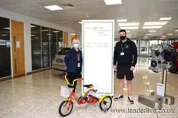 This is the new trike added to the all-ability cycling service fleet at Alyn Waters Country Park - LeaderLive