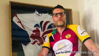 Former Olympian to take on charity cycling challenge in memory of his father - Lichfield Live
