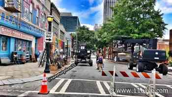 PHOTOS   Rosario Dawson, Ava DuVernay pick up scenes for upcoming HBO Max series 'DMZ' in metro Atlanta - 11Alive.com WXIA