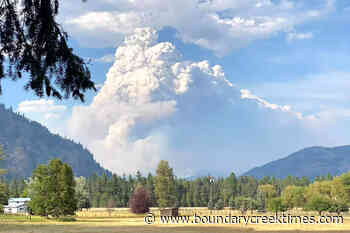 Gladstone Park wildfire doubles in two days – Boundary Creek Times - Boundary Creek Times