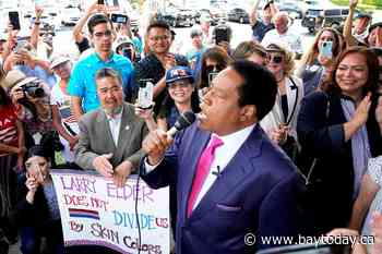 Radio host Larry Elder to appear on California recall ballot