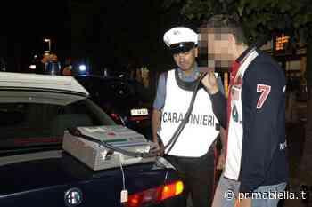 Ubriaco al volante, denunciato dai Carabinieri giovane di 25 anni di Cossato - Prima Biella