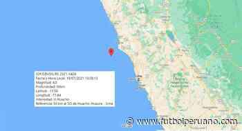 Temblor hoy en Lima: sismo de 4.0 sacudió Huacho (Huaura) el lunes 19 de julio por la tarde - Futbolperuano.com
