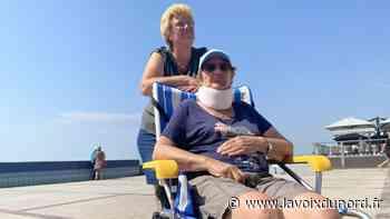 Wimereux: les personnes à mobilité réduite peuvent désormais profiter des joies de la plage - La Voix du Nord