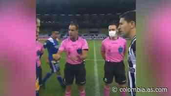 Desde el sorteo de Minero-Boca, el árbitro puso tensión - AS Colombia