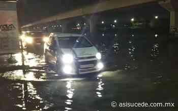 Se inunda, otra vez, acceso a San Mateo Atenco - Noticiario Así Sucede