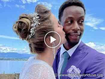 Gael Monfils' CRAZY dance at his wedding! - Tennis World USA