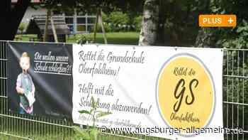 Wie Eltern das Aus für die Grundschule Oberfahlheim verhindern wollen - Augsburger Allgemeine