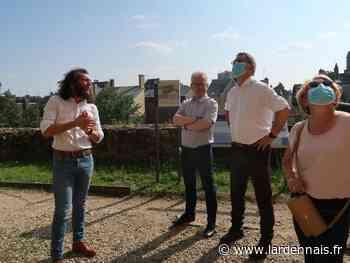 Le président de Région,Jean Rottner, en visite à Sedan - L'Ardennais