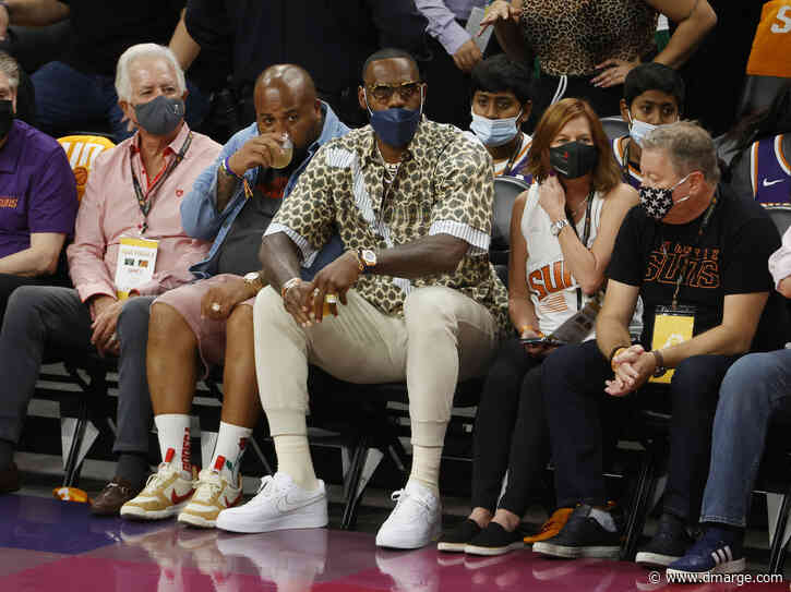 LeBron James Fashion Experiment Proves Loud Shirts Are Officially Back In Style