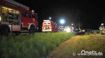 Schwerer Unfall bei Tirschenreuth: Mann unter eigenem Auto eingeklemmt - Onetz.de