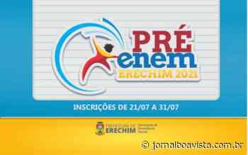 Curso preparatório Pré-Enem com inscrições abertas – Jornal Boa Vista e Rádio Cultura 105.9 Fm - Jornal Boa Vista