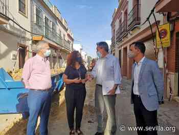 El Ayuntamiento renueva redes y reurbaniza calles en Bellavista dentro del programa de 33 proyectos por un importe de 237 millones de euros que tiene en marcha Emasesa en toda la ciudad - Ayuntamiento de Sevilla