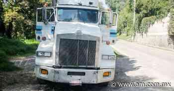 Recuperan en Tepeji camión robado en Estado de México - Periódico AM