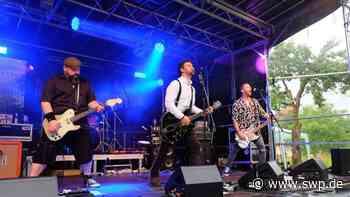 Rock im Garten in Langenau: Wie das erste Live-Konzert seit langem bei Bands und Fans ankommt - SWP