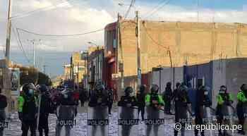 Cusco: buscan a protestantes que causaron destrozos en Fiscalía de Espinar - LaRepública.pe