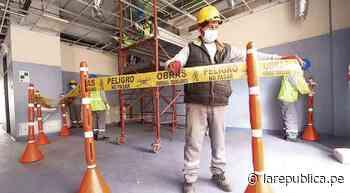 Cusco: desmontarán algunas partes del hospital Lorena - LaRepública.pe