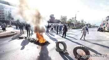 Cusco protesta por alza del costo de vida y hospital - LaRepública.pe