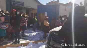 Cusco: protestantes ingresan a Fiscalía y lanzan expedientes a la calle - LaRepública.pe