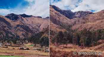 Cusco: Policía interviene a presunto autor de incendio forestal - LaRepública.pe