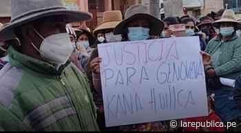 Cusco: exesposo de mujer fallecida es el principal sospechoso de asesinato - LaRepública.pe