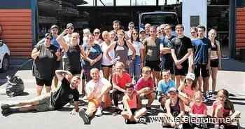 À Landivisiau, succès d'un MURPH qui a réuni 40 crossfitteurs avec Allan Ronvel - Le Télégramme