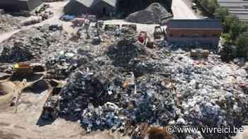 880 tonnes de déchets déblayés sur Rochefort et Marche ce week-end - vivreici.be