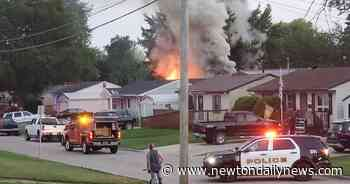 Garage fire in Newton under investigation – Newton Daily News - Newton Daily News