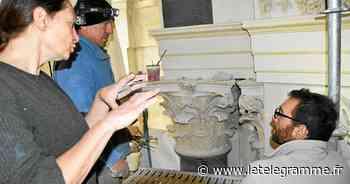 À Vannes, sous les fientes de pigeons la chapelle Saint-Yves dévoile son lustre - Le Télégramme