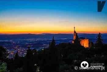 Pôr do sol no Santuário da Penha em Guimarães encanta fiéis e turistas - Semanário V