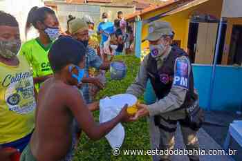 BA Jequié: Ronda Maria da Penha entrega sopa para moradores em situação de vulnerabilidade - Rahiana