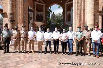 Emotiva conmemoración, en Villa del Rosario, del Día de la Independencia | Noticias de Norte de Santander, Colombia y el mundo - La Opinión Cúcuta