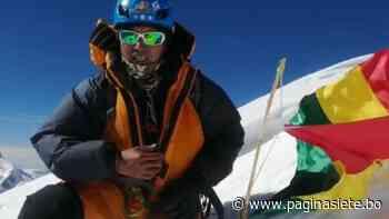 Ayaviri, el primer boliviano en hacer cumbre al nevado BroadPeak - Diario Pagina Siete