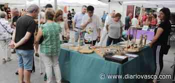 Menos participación en la XXXVI Feria de Artesanía de Santa Ana de hoy - Diario Vasco