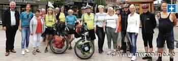 Fahrradtour zum Thema Depressionen: Mutmacher machen in Cloppenburg Halt - Nordwest-Zeitung