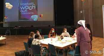 Beim Jugendgipfel in der Badner Halle entstehen neue Ideen für Rastatt - BNN - Badische Neueste Nachrichten