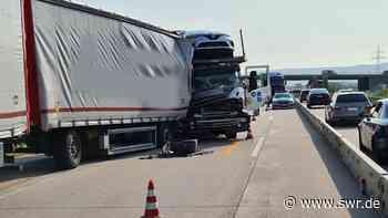 A5 nach Lkw-Unfall zwischen Karlsruhe und Rastatt wieder frei - SWR