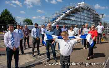 First look at the new Blackburn Rovers-themed Wainwright Bridge