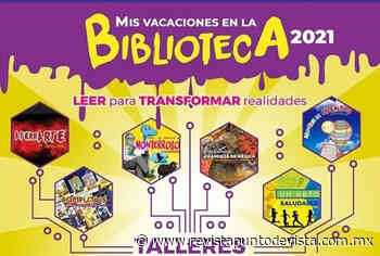 """Soledad informa que el programa """"Mis vacaciones en la biblioteca 2021"""" será virtual - Revista Punto de Vista"""