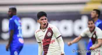 Universitario: ¿Quién es Piero Quispe, el juvenil que maquilló sobre la hora los errores de Ángel Comizzo? - El Comercio Perú