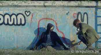 BTS: profesor universitario salva pared donde V y RM hicieron un grafitti - LaRepública.pe