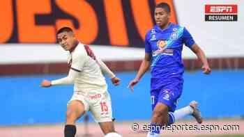 Universitario y Alianza Atlético repartieron puntos en Lima - ESPN Deportes
