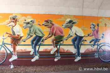Fietsen door een schilderij op één van de drukste fietsknooppunten - Het Belang van Limburg
