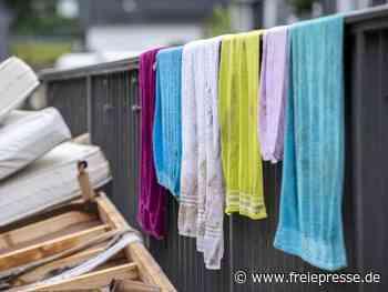 Putzen nach der Flut: Desinfektionsmittel bringt nichts - Freie Presse