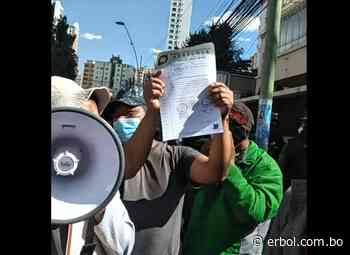 Adepcoca de Armin Lluta entrega su pliego de demandas al Ministerio de Gobierno - Red Erbol