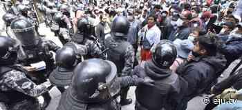 Armin Lluta afirma que Los Yungas le cobraron el conflicto al Gobierno en segunda vuelta - eju.tv