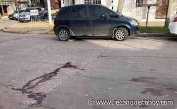 Chocaron a un peatón sobre calle Lucas Funes y preocupan las lesiones que sufrió. - Reconquista HOY